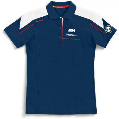 BMW polo triko MOTORSPORT dámské blue