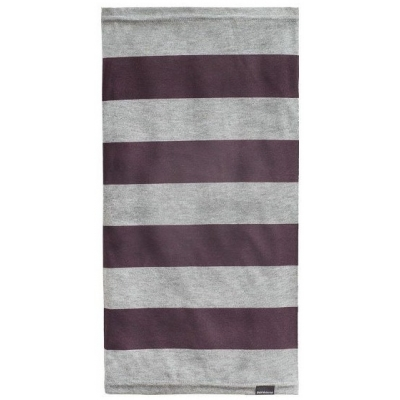 BMW nákrčník EASY TUBE Stripe wine/charcoal