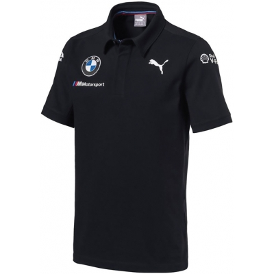 BMW polotričko TEAM PUMA anthracite