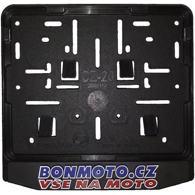 BONMOTO rámeček na SPZ 3D black