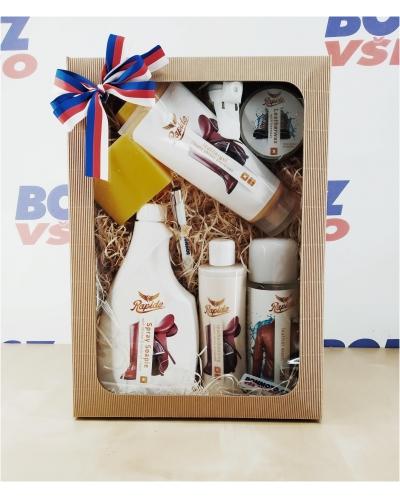 BONMOTO dárkový balíček RAPIDE na kůži