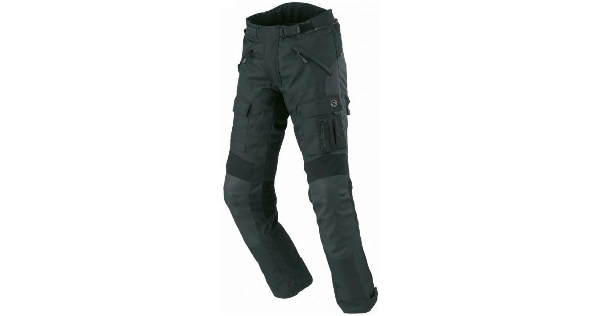 BÜSE kalhoty BORMIO black  2b7d06e9ba
