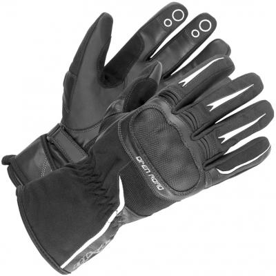 BÜSE rukavice OPEN ROAD TOURING black / white