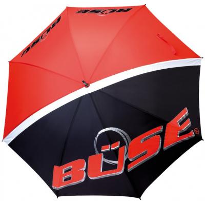 BÜSE deštník black/red