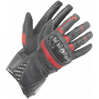 BÜSE rukavice MISANO dámské black/red