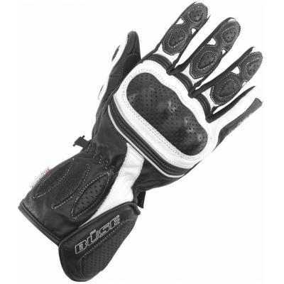 BÜSE rukavice PIT LANE dámské black/white