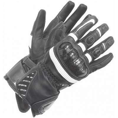 BÜSE rukavice MISANO dámske black / white