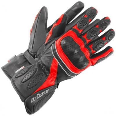 BÜSE rukavice PIT LANE black/red