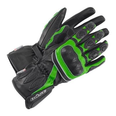 BÜSE rukavice PIT LANE black/green