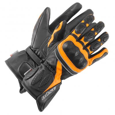 BÜSE rukavice PIT LANE black/orange