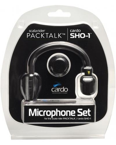 CARDO audio kit MICROPHONE SET black