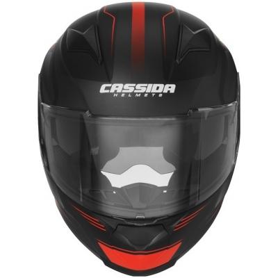 Cassidy prilba APEX Fusion matt black / fluo red / white