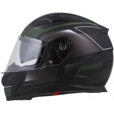 Cassidy prilba APEX Fusion matt black / army green / white
