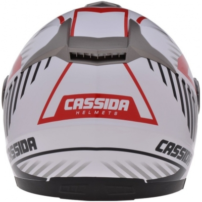 Cassidy prilba MAGNUM black / white / red