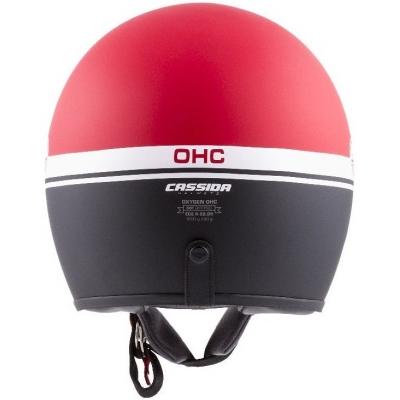 Cassidy prilba OXYGEN Jawa OHC matt red / black / white
