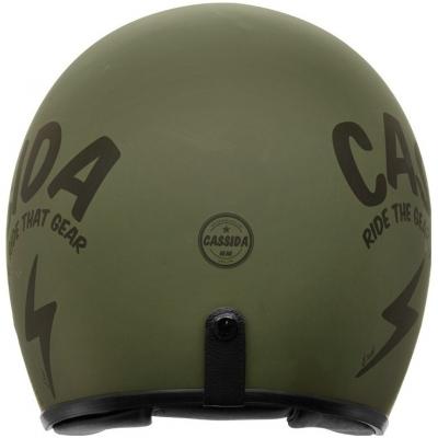 Cassidy prilba OXYGEN Gear matt green / black