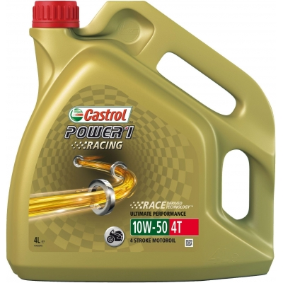 CASTROL olej POWER1 Racing 4T 10W50 4L