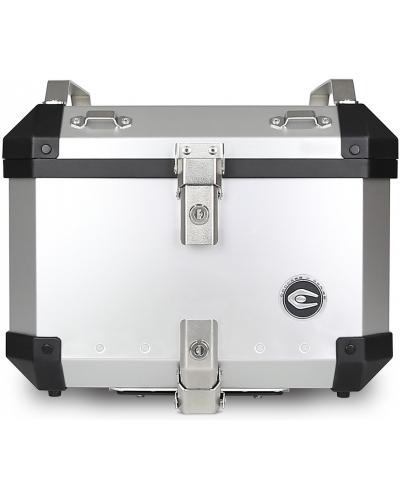 COOCASE vrchní kufr X1 Aluminium Silver