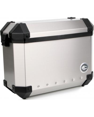 COOCASE boční kufry X4 Aluminium Silver