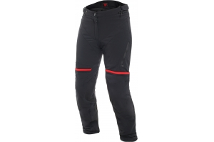 DAINESE nohavice CARVE MASTER 2 GORE-TEX LADY dámske black / red