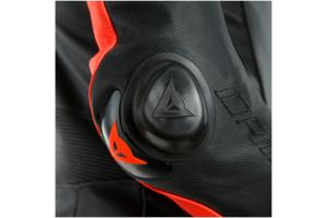 DAINESE kombinéza LAGUNA SECA 5 Perf. 1-dílná black/fluo red