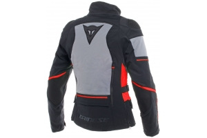 DAINESE bunda CARVE MASTER 2 LADY GORE-TEX dámská black/frost grey/red