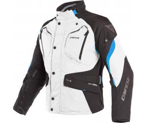 DAINESE bunda DOLOMITI GORE-TEX light grey/black/electron blue
