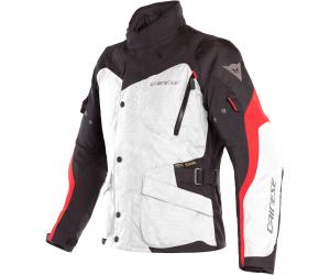 DAINESE bunda TEMPEST 2 D-DRY light grey / black / tour red