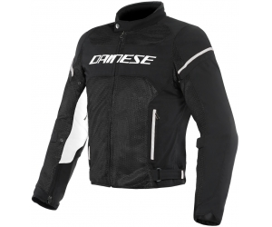 DAINESE bunda AIR FRAME D1 TEX black / white