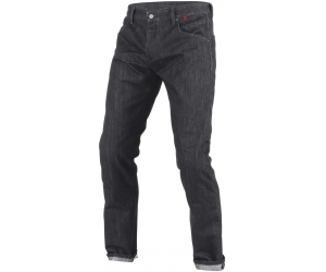 DAINESE kalhoty jean STROKEVILLE Slim/Reg. black/aramid/denim