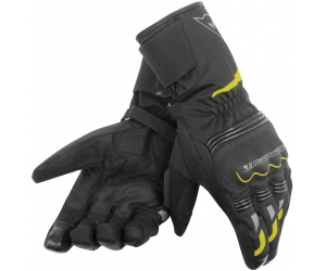 DAINESE rukavice TEMPEST D-DRY Long black fluo yellow 4d14a3c0f0