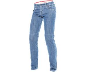 DAINESE nohavice jean BELLEVILLE SLIM dámske medium denim blue