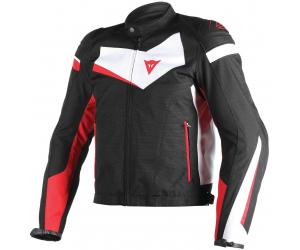 DAINESE bunda VELOSTER TEX black/white/red