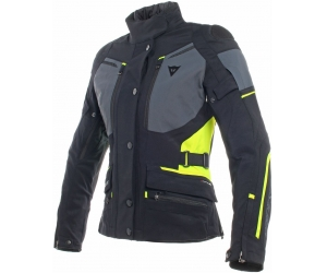 DAINESE bunda CARVE MASTER 2 LADY GORE-TEX dámská black/ebony/fluo yellow
