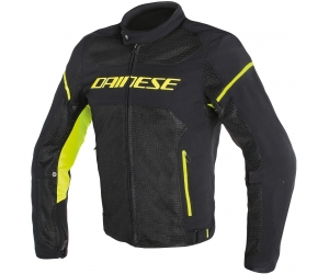 DAINESE bunda AIR FRAME D1 TEX black / fluo-yellow