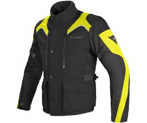 DAINESE bunda TEMPESTD-DRY black/black/fluo-yellow