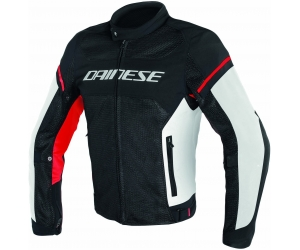 DAINESE bunda AIR FRAME D1 TEX black / white / red