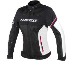 DAINESE bunda AIR-FRAME D1 dámská black/grey/pink