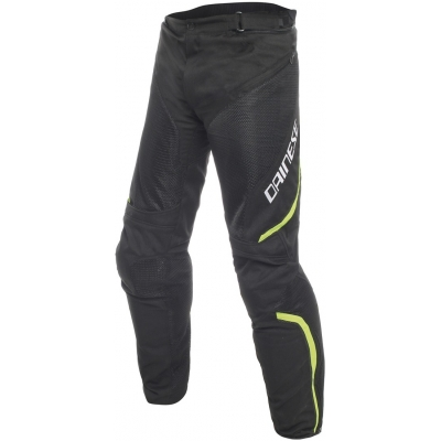 DAINESE nohavice DRAKE AIR D-DRY black/black/fluo yellow