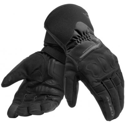 DAINESE rukavice X-TOURER D-DRY Black / Black