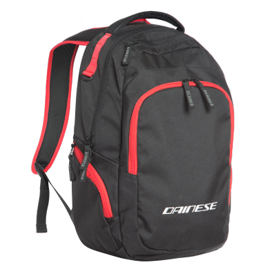DAINESE batoh D-QUAD black/red
