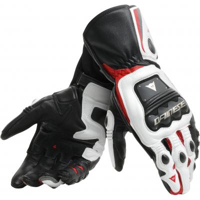 f8bab1bcc50 DAINESE rukavice STEEL-PRO black white red