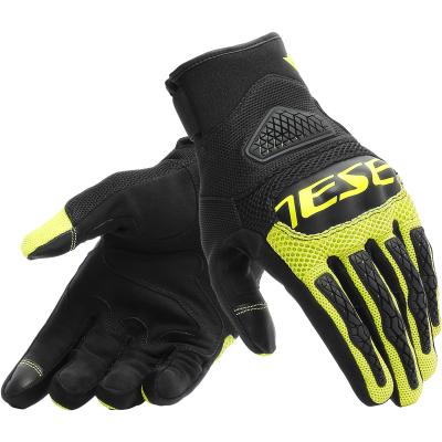 DAINESE rukavice BORA black/fluo-yellow
