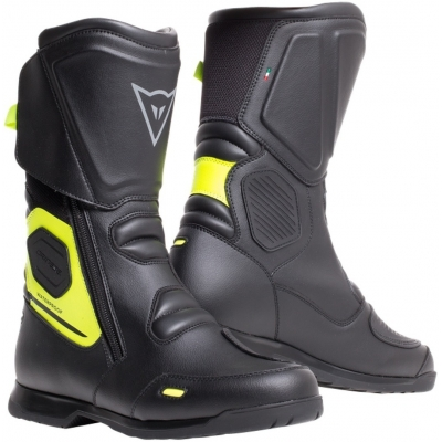 DAINESE boty X-TOURER D-WP black/fluo-yellow