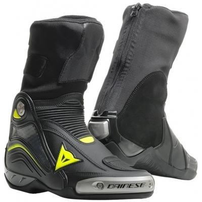 DAINESE boty AXIAL D1 black/fluo-yellow