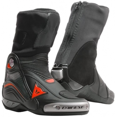 DAINESE topánky AXIAL D1 black/fluo red