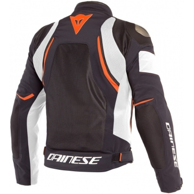 DAINESE bunda DINAMICA AIR D-DRY black/white/fluo-red