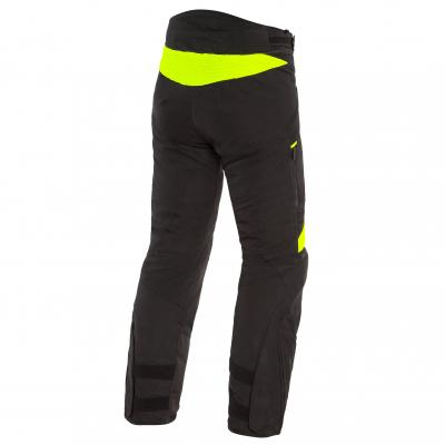 DAINESE kalhoty DOLOMITI GORE-TEX black/black/fluo-yellow