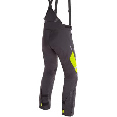 DAINESE kalhoty GRAN TURISMO GORE-TEX black/fluo-yellow