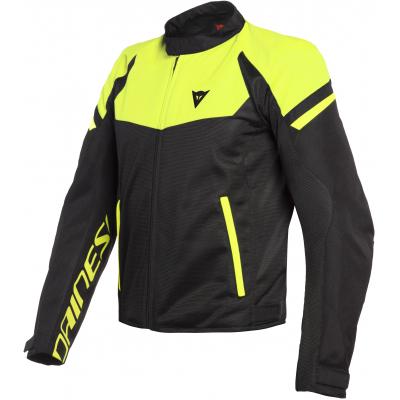DAINESE bunda BORA AIR TEX black/fluo-yellow